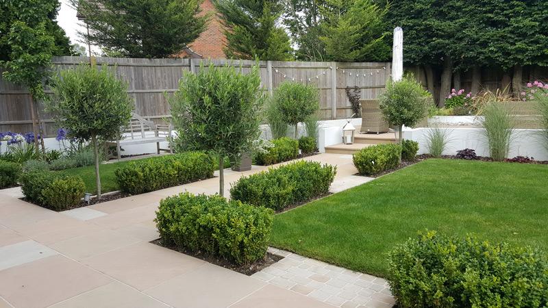 Garden Designers Kent | Contemporary Garden with Gazebo