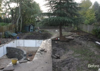 Garden-design-Bromley-1-before