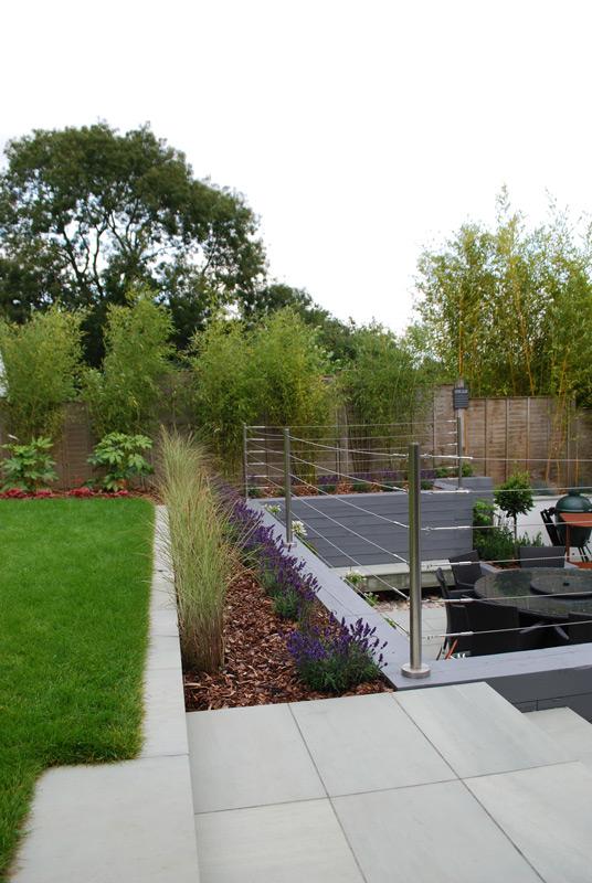 Landscape Designers Kent | Contemporary Raised Garden