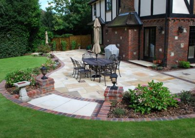 Traditional Garden Design Keston 1