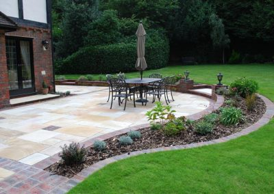 Traditional Garden Design Keston 3