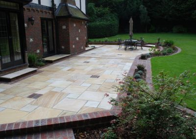 Traditional Garden Design Keston 4