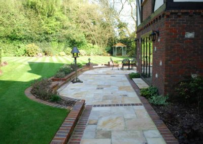 Traditional Garden Design Keston 6