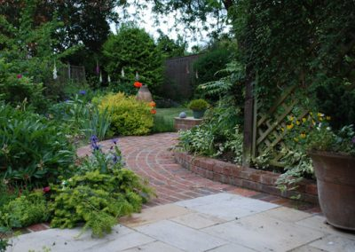 Traditional Garden Design Orpington 5