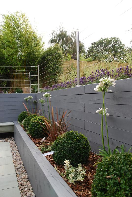 Landscape Designers Kent   Contemporary Raised Garden