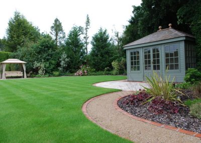 Traditional Garden Design Farnborough Park 4