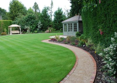 Traditional Garden Design Farnborough Park 5