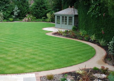 Traditional Garden Design Farnborough Park 6