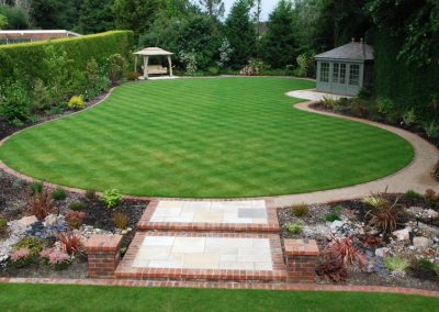 Traditional Garden Design Farnborough Park 7