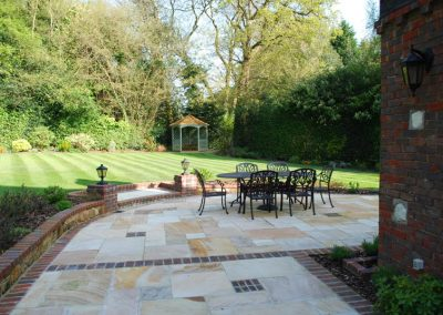 Traditional Garden Design Keston 5