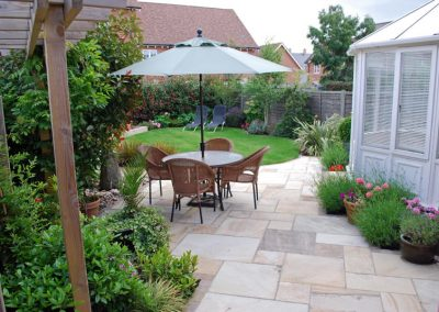 Traditional Garden Design Kings Hill 3