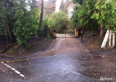 driveway-design-chislehurst-2-before