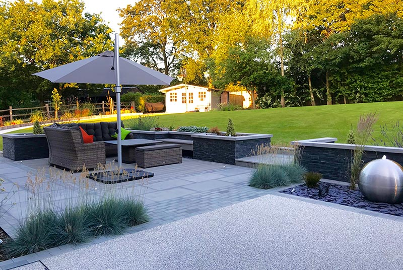 Garden Design in Ightham, Sevenoaks, Kent - Landscape ...