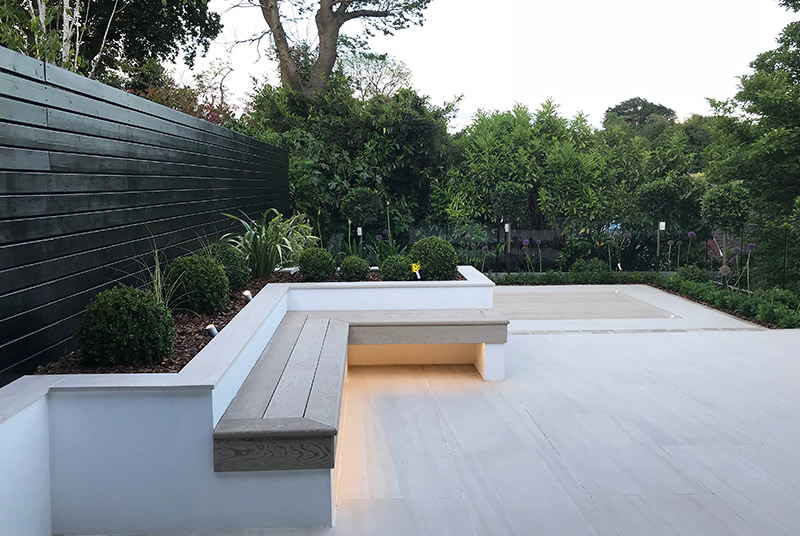 Contemporary Garden Design in Sevenoaks, Kent - Landscape ...
