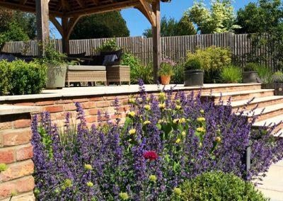 lavender patch by landscape design in Kent