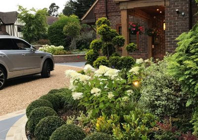 luxury driveway design south Lonfon