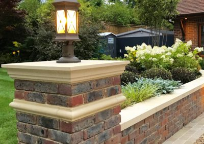 driveway brick gate design South London