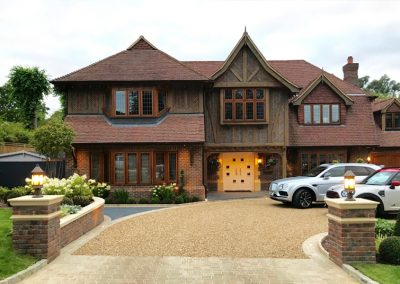 luxury driveway landscape designer in South London