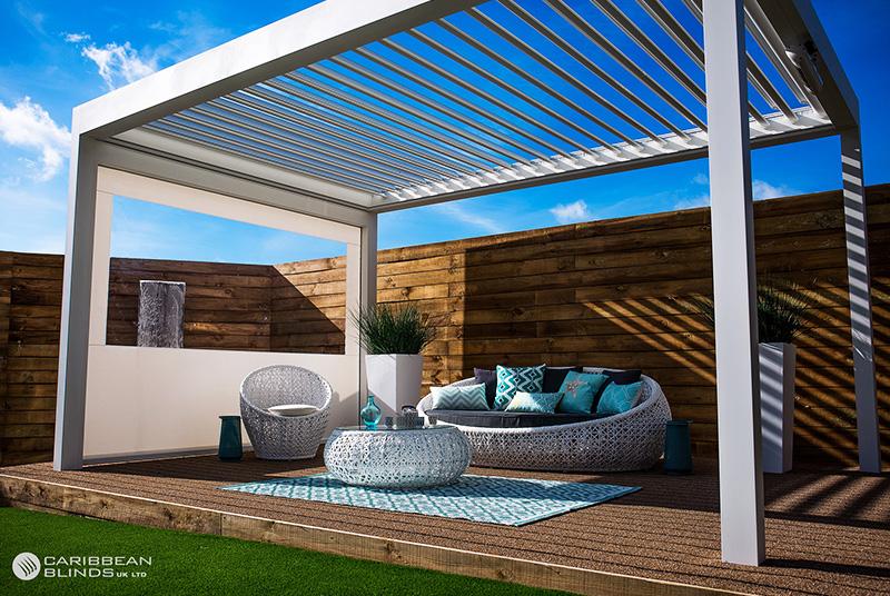 Contemporary garden shelter